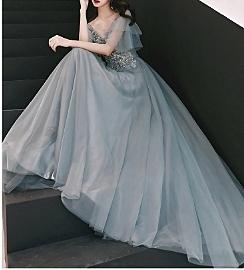 (45 Design高雄實體店面)  定製七天 長禮服 媽媽禮服 大尺寸定做敬酒服新娘晚禮服21