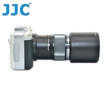 又敗家-JJC副廠Olympus遮光罩LH-49遮光罩,可拉伸收納同Olympus原廠遮光罩LH49適MZD 60mm F2.8