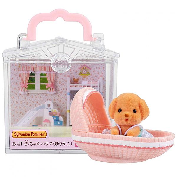 《 森林家族 - 日版 》嬰兒搖籃提盒  / JOYBUS玩具百貨