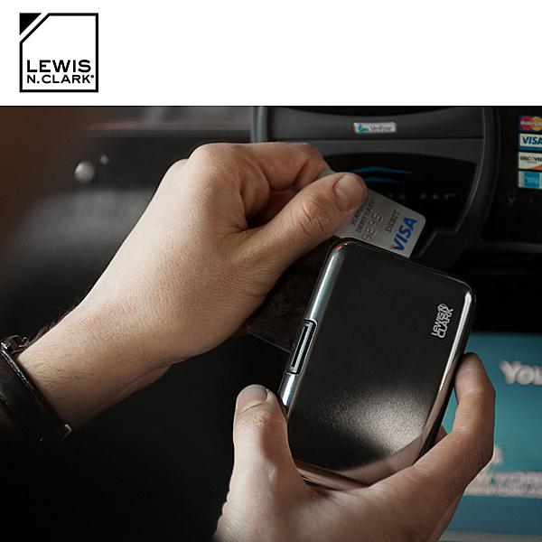 Lewis N. Clark RFID屏蔽鋁製卡片盒 1201 / 城市綠洲 (防盜錄、卡片收納、旅遊配件、美國品牌)
