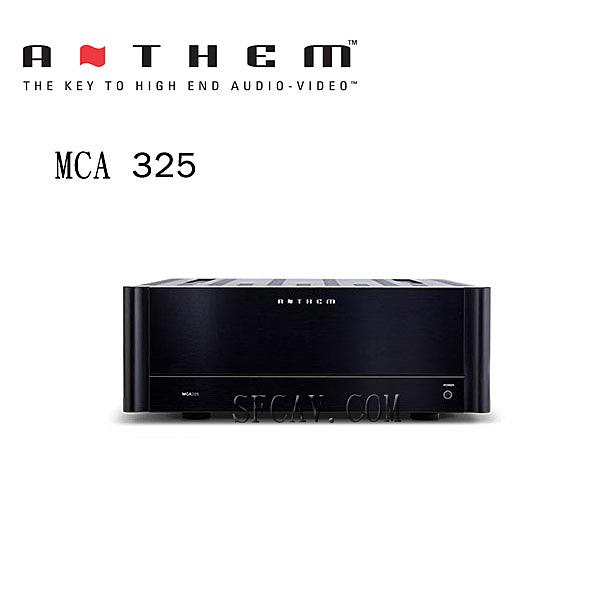 【勝豐群音響竹北】Anthem MCA325 後級擴大機 ~加拿大製造~