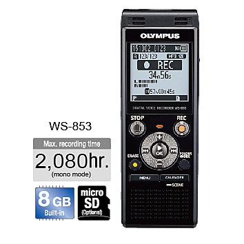 【OLYMPUS】 數位錄音筆 WS-853