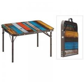 【送料無料】ロゴス アウトドアテーブル グランベーシック 丸洗いスリムサイドテーブル7060
