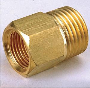 銅接頭 水電材料 風壓接頭 快速接頭 氣壓缸和風用 之錶接 1/8 PT內牙*1/8 PT外牙