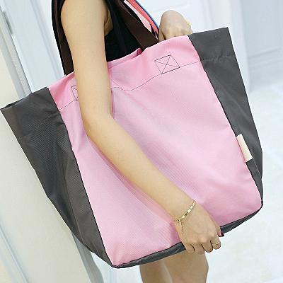 大容量可折疊便攜購物袋超市購物包環保袋單肩女手提袋帆布袋買菜