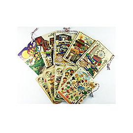 【收藏天地】台灣紀念品*寶島特色系列木質明信片(10款)