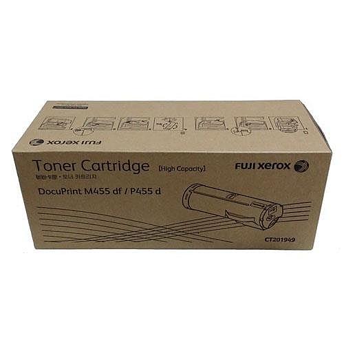 【免運】富士全錄 Fuji Xerox CT201949 原廠高容量黑色碳粉匣(適用 DocuPrint P455 d / M455 df)