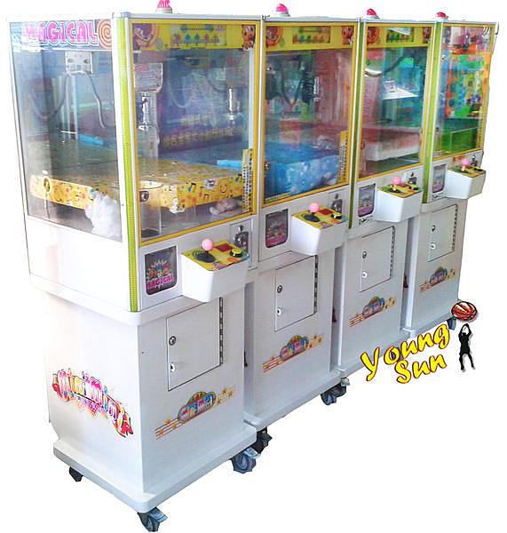 武馬136 迷你娃娃機 夾娃娃機 選物販賣機 娃娃機 大型遊戲電玩 無人商店 創業