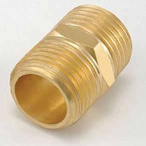 水電材料 風壓接頭 氣壓缸用 快速接頭 風用 銅接頭 雙外牙 1/8 PT*1/8 PT