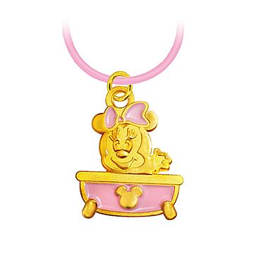 迪士尼系列金飾-彌月金飾禮盒-澎澎美妮