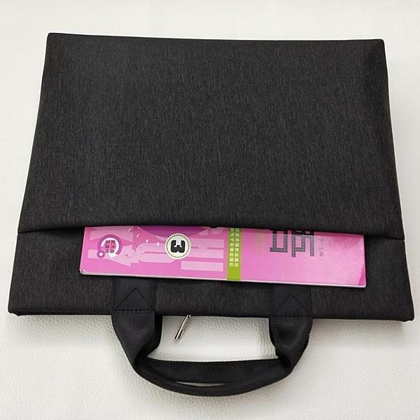 韓版牛津帆布上班辦公文件手提包