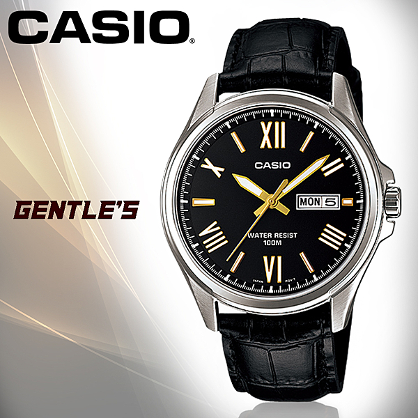 CASIO手錶專賣店 卡西歐 MTP-1377L-1A  男錶 指針 礦物玻璃鏡面 不銹鋼錶殼錶帶