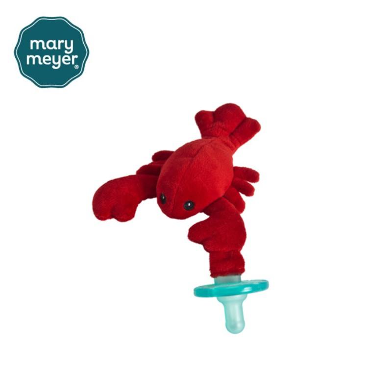 美國MaryMeyer 玩偶安撫奶嘴-小龍蝦