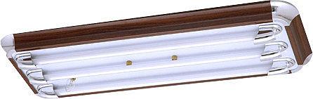 【燈王的店】台灣製 LED T8 2尺三管美術型 專用燈具 + 電子開關 (燈管另購) ☆ LED-SK20331