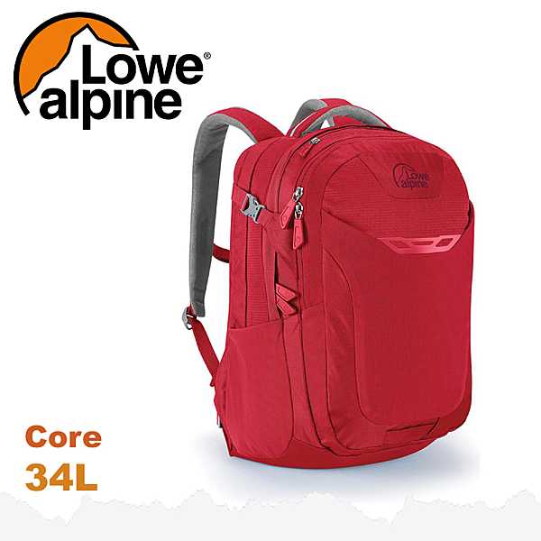 【 LOWE ALPINE 英國 Core 34 休閒後背包《氧化鉛紅》34L】FDP-44/雙肩背包/電腦包/登山包
