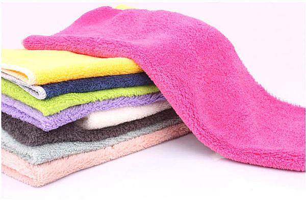 木纖維不沾油抹布**多功能洗巾**超柔軟擦手巾(20入)【現貨+預購  不挑款出貨】