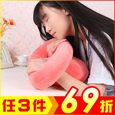 (特價出清) 創意章魚午睡抱枕 趴趴午安枕頭 兩用坐護腰靠墊【AE03103】 i-Style居家生活