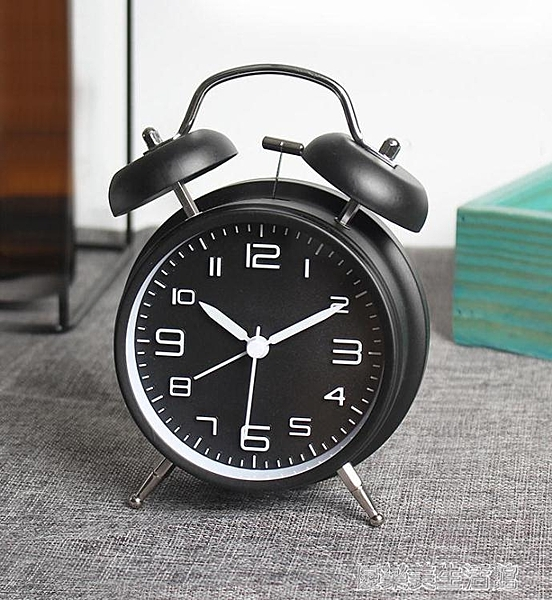 鬧鐘 機械超大聲音鬧鈴小鬧鐘創意個性學生用懶人時鐘簡約起床神器兒童