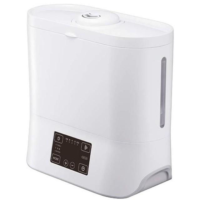 加湿器 ハイブリッド式 大容量 上部給水型 ピエリア ホワイト ドウシシャ KHU-602