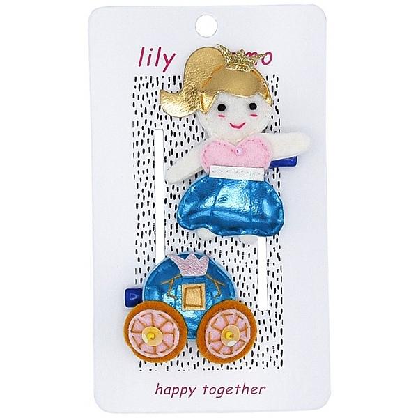 【美國 Lily & Momo】手工童趣髮飾-公主馬車  #HCA338