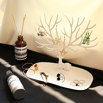 首飾架 鹿角樹形創意項鍊首飾展示架耳環架耳釘手鍊飾品收納盒掛架【星時代生活館】