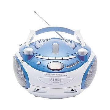 ^聖家^聲寶手提CD音響 AK-W1307RL【全館刷卡分期+免運費】