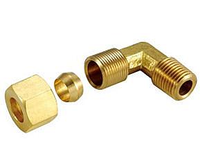 銅接頭 銅管接頭 1/8 PT*3/8 銅管