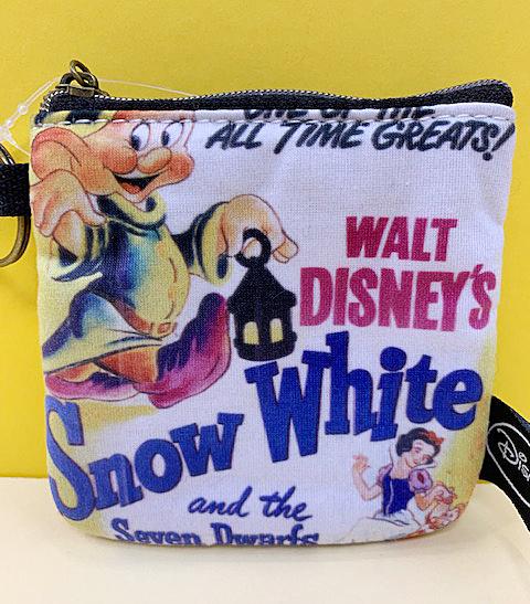 【震撼精品百貨】白雪公主七矮人_Snow White~迪士尼公主系列拉鍊零錢包-白雪公主#71593