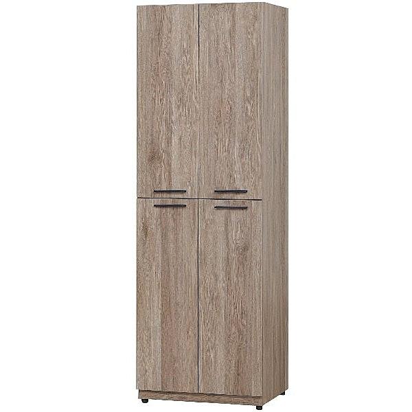 鞋櫃 AT-875-1 古橡2X6尺四門鞋櫃【大眾家居舘】