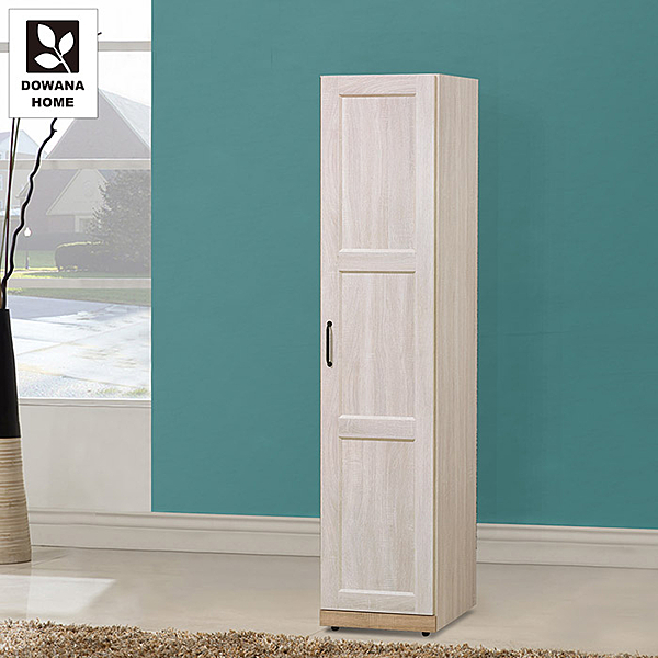 多瓦娜 鄉村茉莉1.5尺右門衣櫃 39.5x55.5x229.7cm