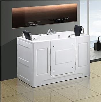 【麗室衛浴】 孝親專用養身泡澡浴缸 T-118 1515*740*含枕外高1160mm 適合家中長輩及行動不便人士