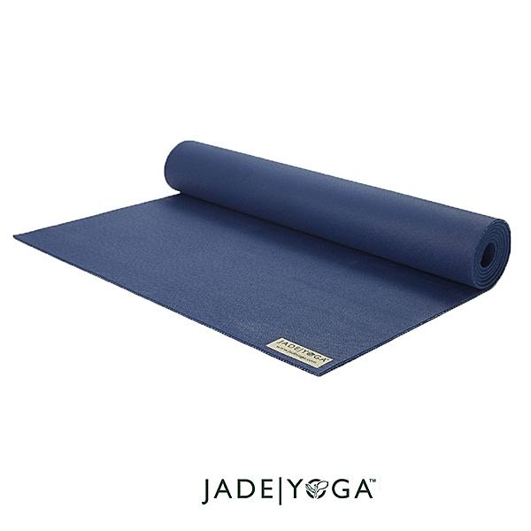 Jade yoga|天然橡膠瑜珈墊|Harmony Mat 173cm - 午夜藍 Midnight