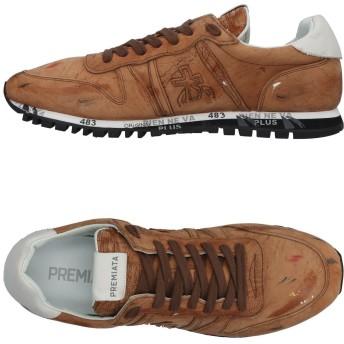 《セール開催中》PREMIATA メンズ スニーカー&テニスシューズ(ローカット) ブラウン 43 革