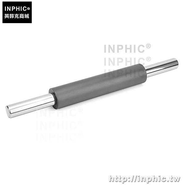 INPHIC-烘焙桿麵棍不鏽鋼桿麵棍烘焙工具小款1.19kg黑色不黏壓麵棍-小款_Z2WM