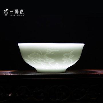 影青瓷品茗杯