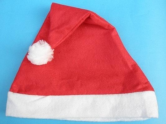 聖誕帽 一般標準型不織布聖誕帽(成人用)/一大件600頂入(定20) 耶誕帽-5417-YF9109