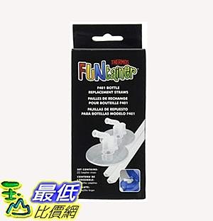 [7美國直購] Thermos 更換用吸管 2入 Replacement Straws for 12 Ounce Funtainer Bottle, Clear (F401RS6)