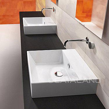 【麗室衛浴】義大利 CATALANO  Premium  系列 方型掛盆、檯上盆  50VP  50*47CM