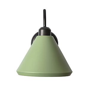 (組)特力屋萊特彎管壁燈綠鐵燈罩