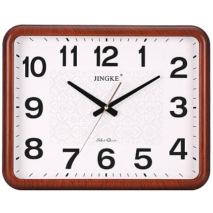 鐘錶 客廳掛鐘 方形家用靜音時鐘 個性創意掛錶 石英鐘