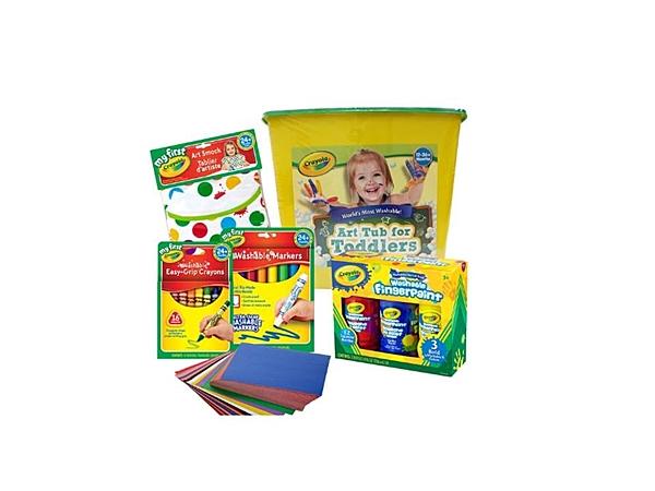 小饅頭**繪兒樂 Crayol幼兒夏日塗鴉超值組(063652049001)*特價719元