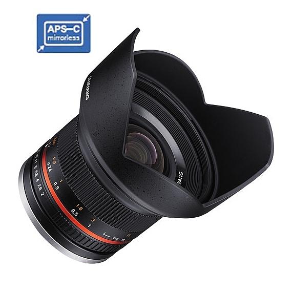 【聖影數位】SAMYANG 三陽 12mm F2 NCS CS APS-C / M4/3 手動 微單眼鏡頭 (公司貨)