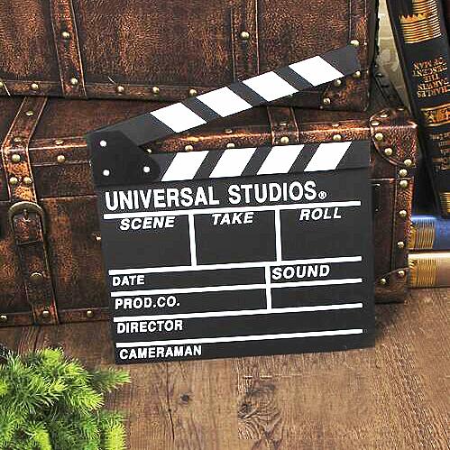 【葉子小舖】黑色木質場記板/電影拍板/導演打板/婚紗拍攝/攝影道具/拍照/導演板/婚禮小物