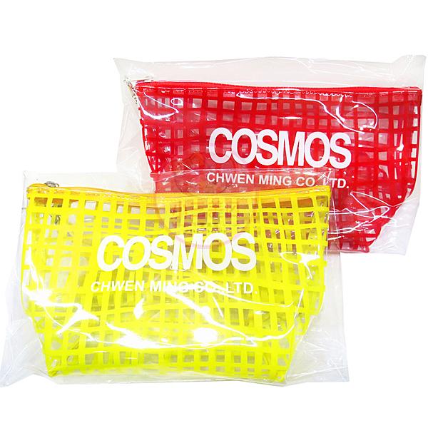 COSMOS T36244果凍化妝包(1個入) 顏色隨機出【小三美日】
