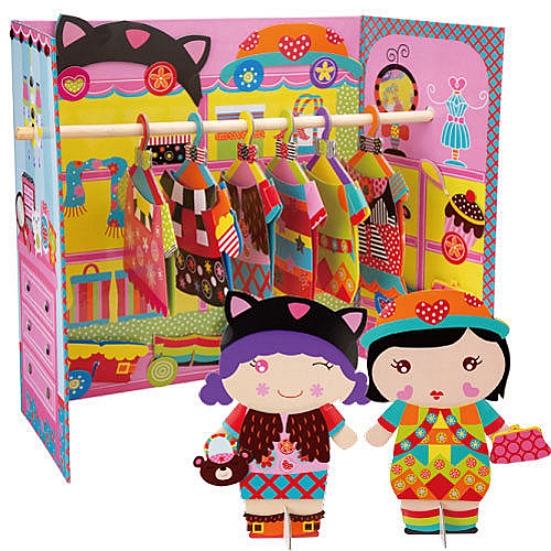 【美國 Alex】娃娃家衣櫥