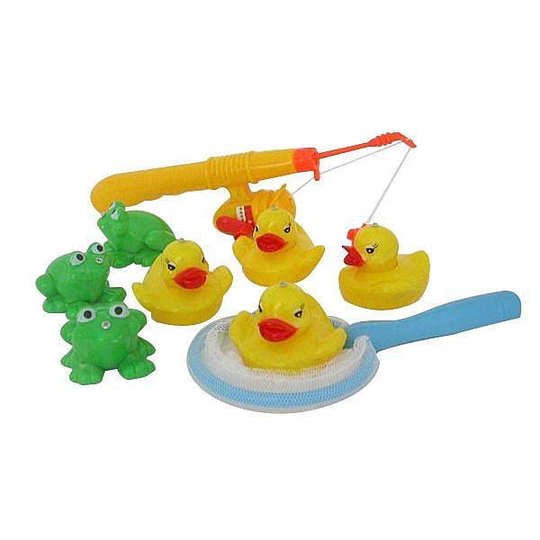 青蛙小鴨釣釣樂洗澡玩具(ST)【888便利購】