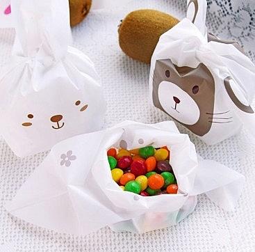 [協貿國際]兔耳朵點心袋20個裝5包入
