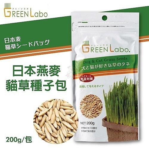 *WANG*GreenLabo《日本燕麥貓草種子包》是貓大人們的天然化毛膏