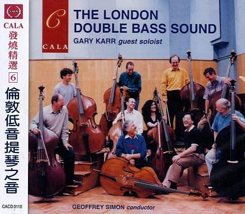 【停看聽音響唱片】【CD】CALA發燒精選6:倫敦低音提琴之音