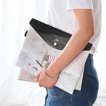 [協貿國際]A4防水文件袋10入